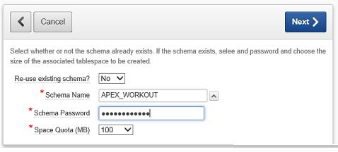 Schéma pro workspace