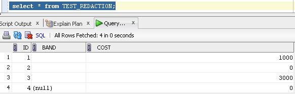 Data Redaction - příklad 1