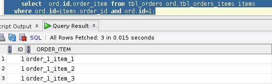 Select, který budeme registrovat pro query